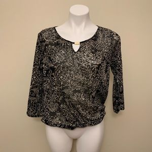 The Limited Keyhole Blouse